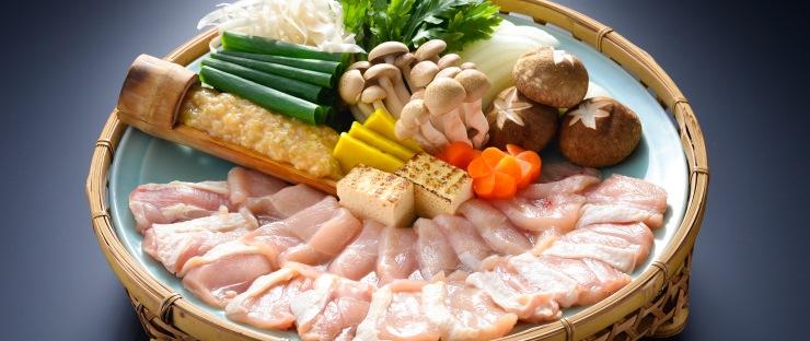 地鶏すき鍋